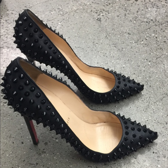 low priced c7c48 85639 ❌SOLD❌ Christian Louboutin follies spike heels